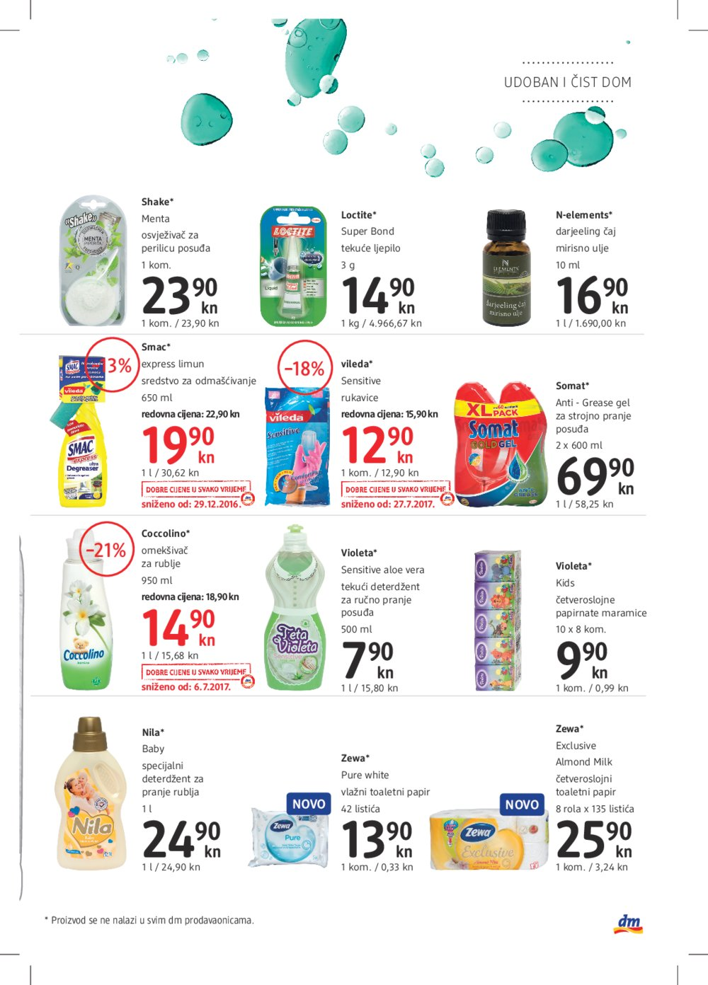 DM katalog Kolovoz od 1.8. do 15.8.2017.