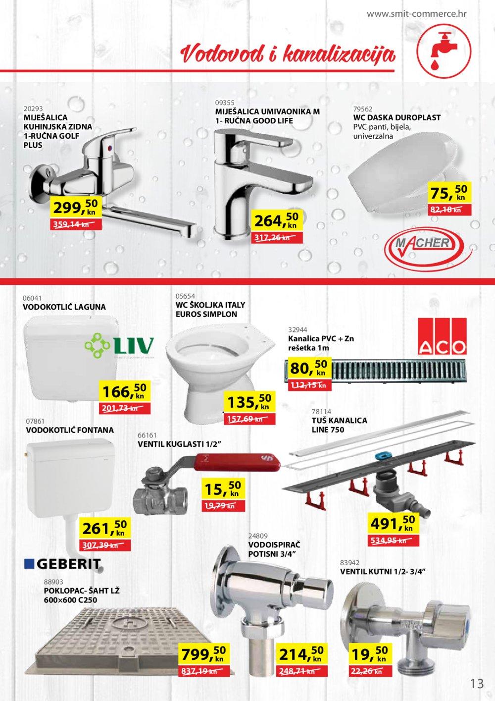 Smit Commerce katalog Sve za gradnju i opremanje stana 15.07.-14.08.2018.
