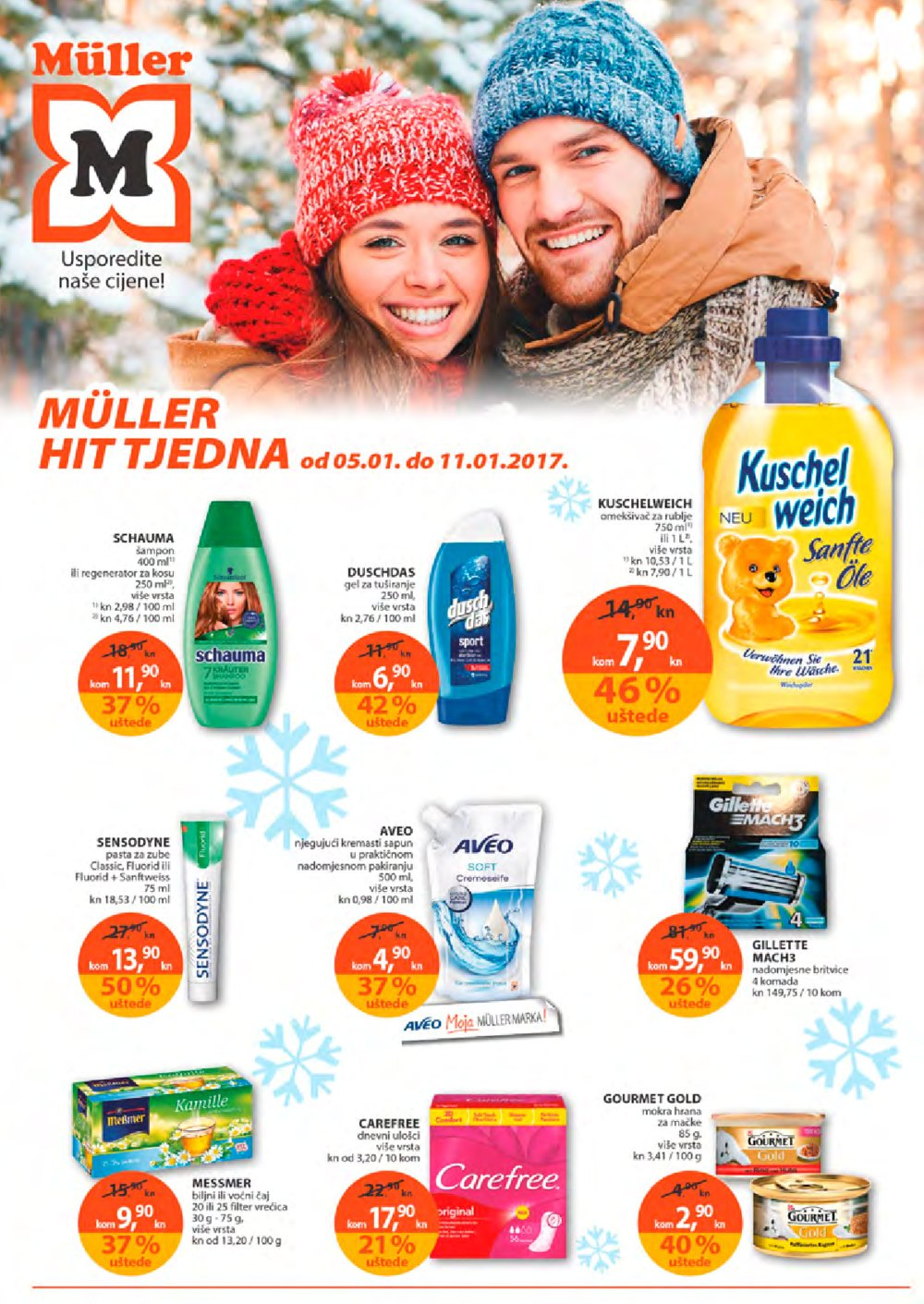 Muller katalog Drogerija do 11.1.2017.