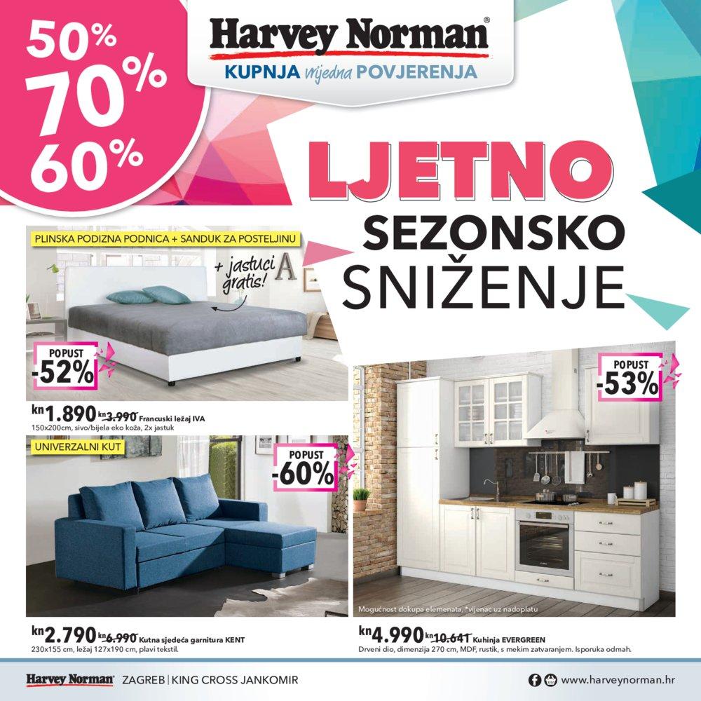 Harvey Norman Ljetno sezonsko sniženje 08.08.2017. - 05.09.2017.