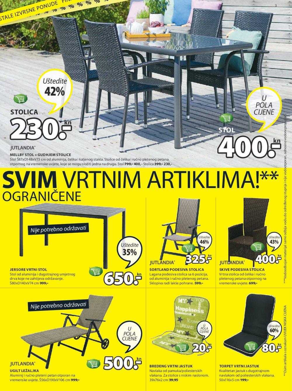 JYSK katalog Finalana rasprodaja od 03.08. do 16.08.2017.