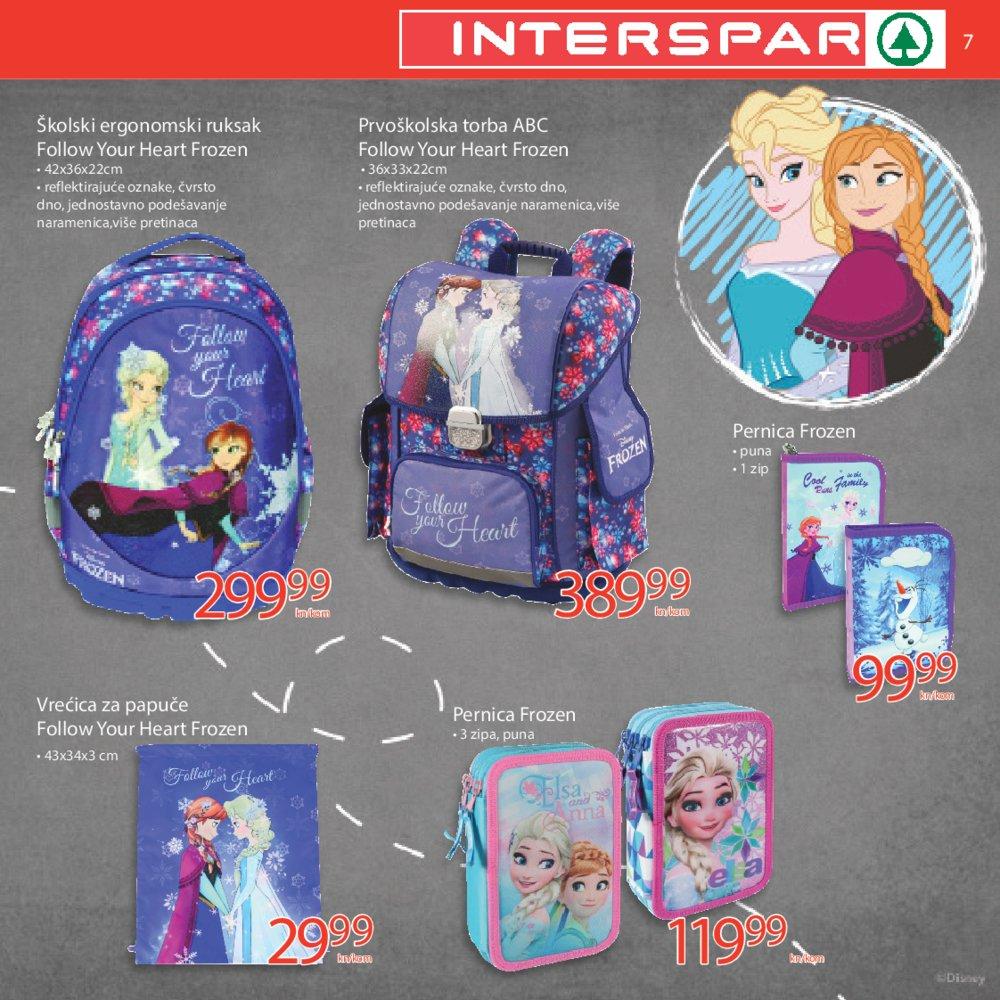 Interspar katalog Sve za školu 26.07.-12.09.2018.