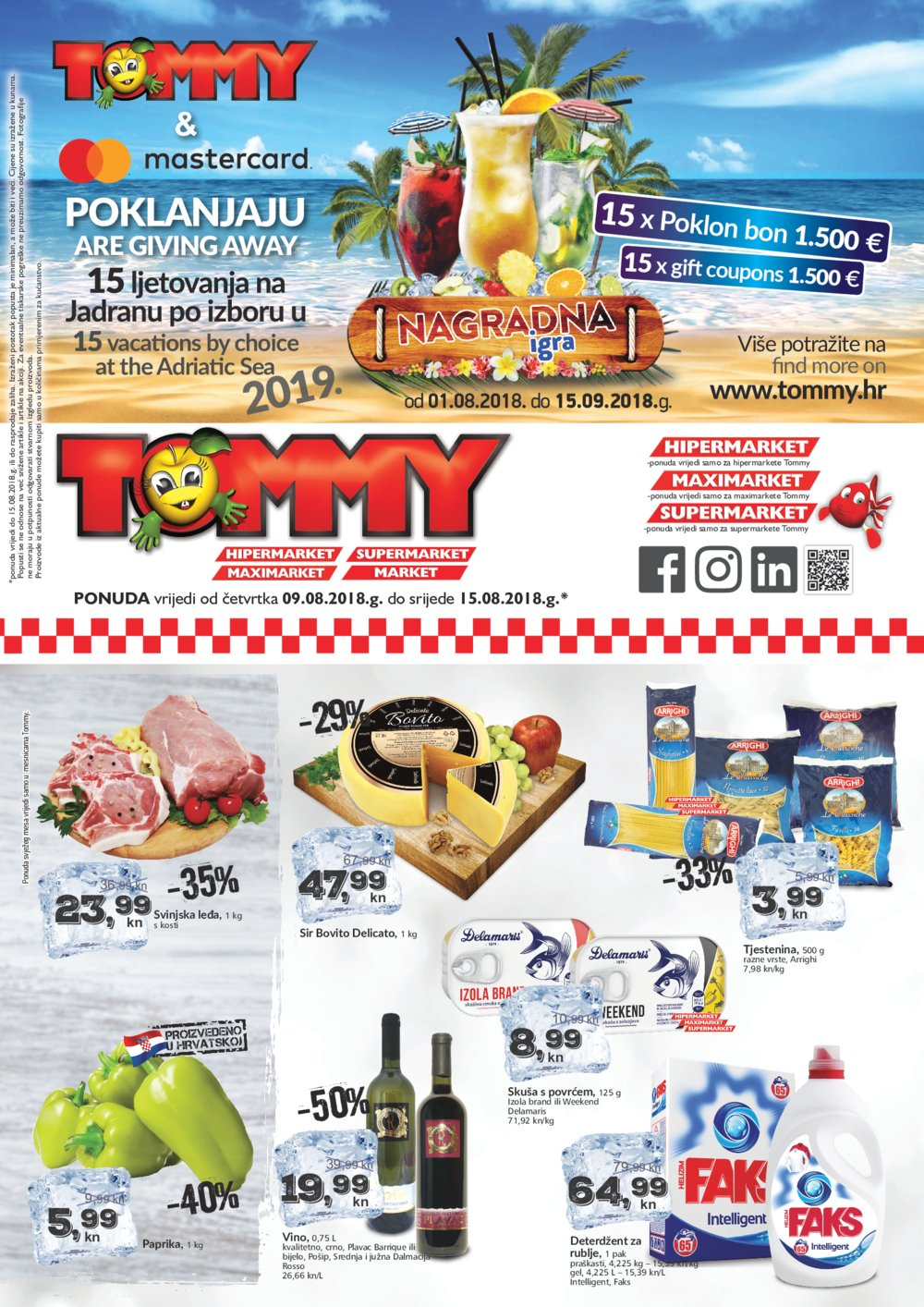 Tommy katalog Akcije 09.08.-15.08.2018.