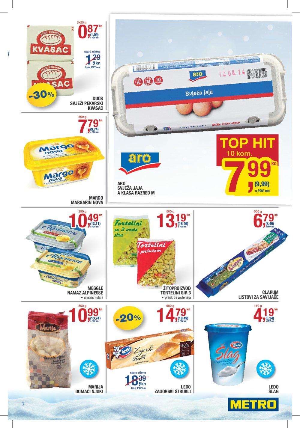 Metro katalog Prehrana do 25.01.2017.
