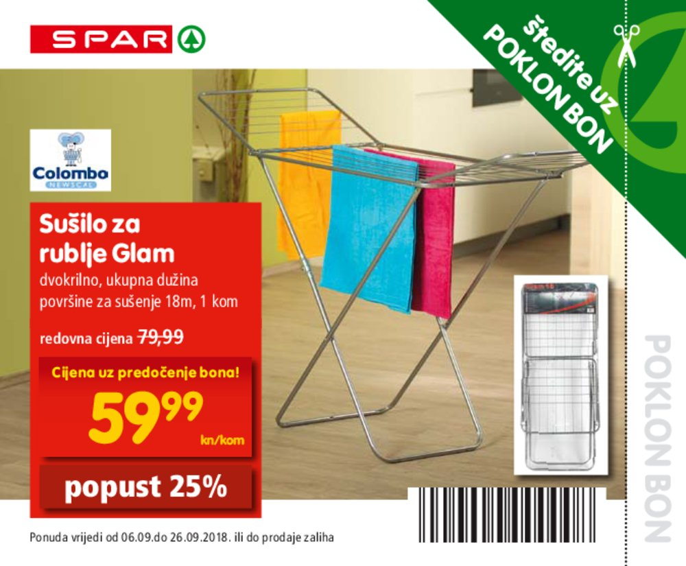 Spar bonovi 06.09.2018. do 26.09.2018.