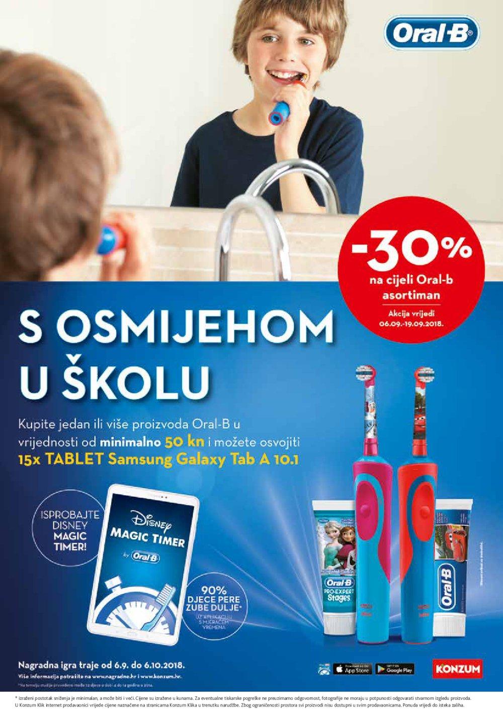 Konzum katalog Akcija Njega na prvom mjestu 06.09.-19.09.2018.