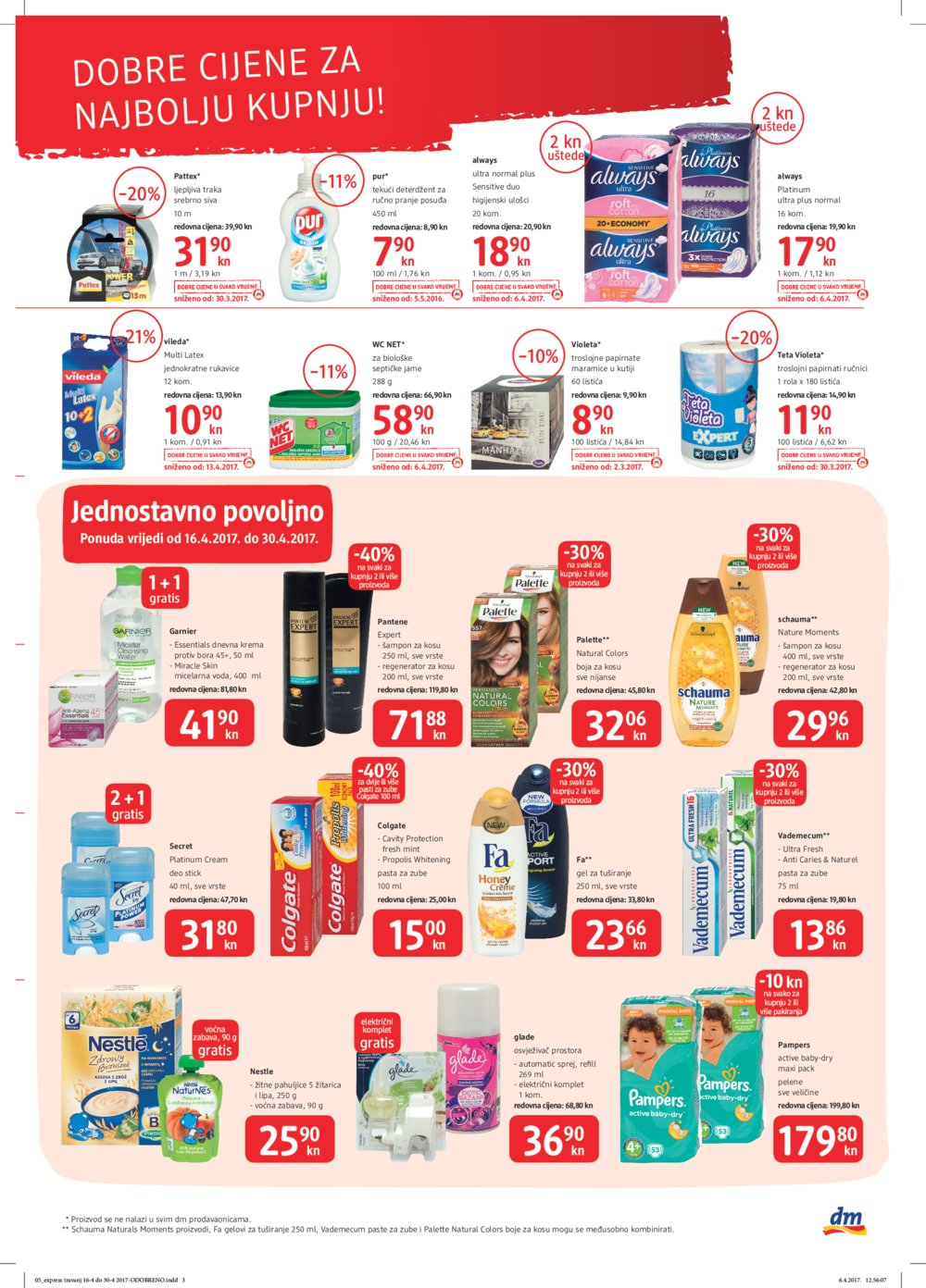 dm katalog Express 16.4. - 30.4.2017.