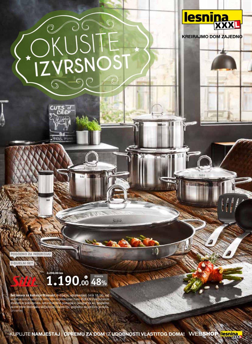 Lesnina katalog Okusite izvrsnost 01.10.-31.10.2018