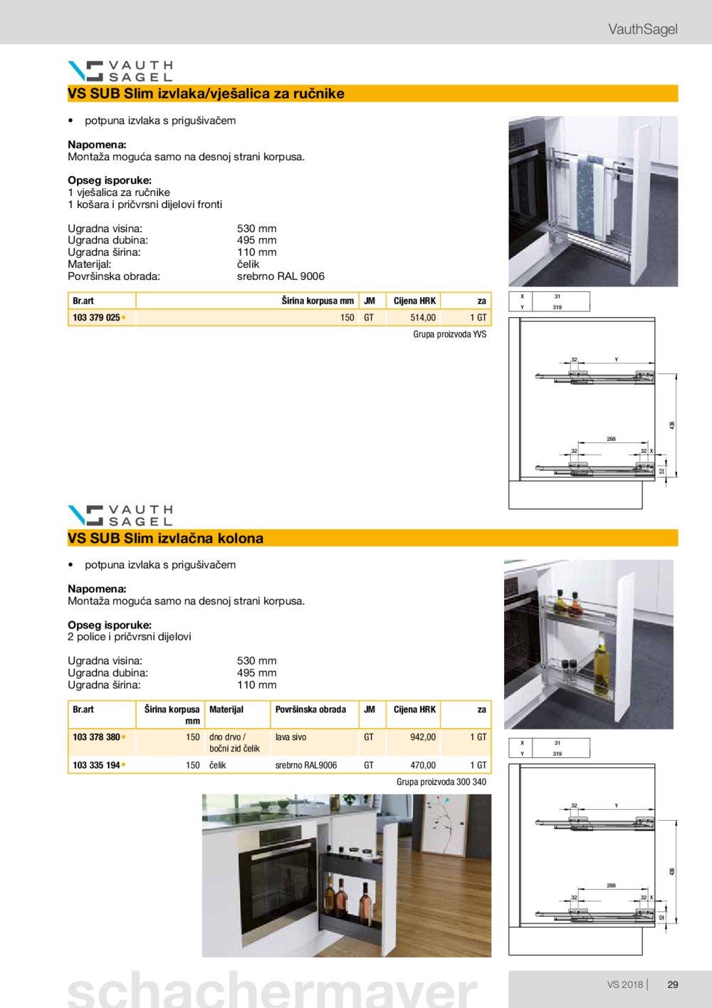 Schachermayer katalog Izvlačno okretni okov 02.10.-31.05.2019.