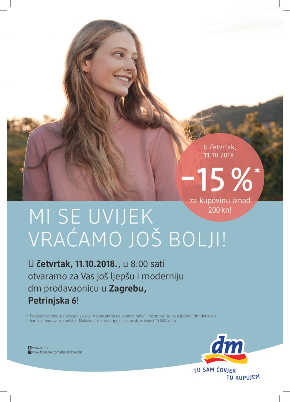 Dm letak Otvorenje Petrinjska 11.10.-13.10.2018.
