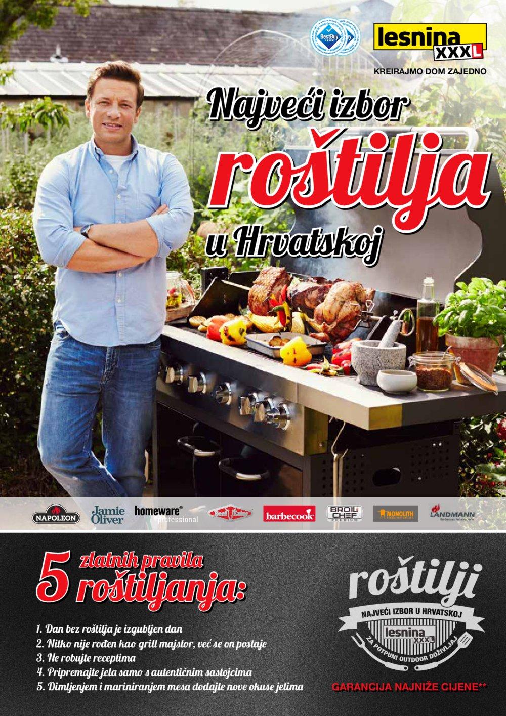 Lesnina katalog Najveći izbor roštilja u Hrvatskoj od 11.04. do 30.05.2017.