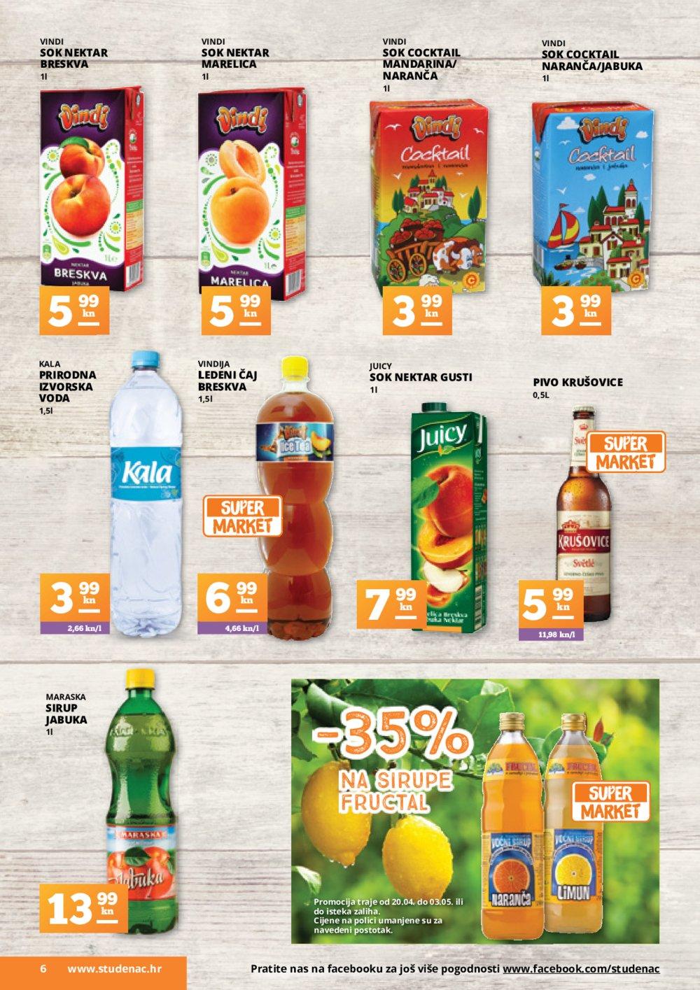 Studenac katalog Akcija od 20.4.2017. do 3.5.2017.