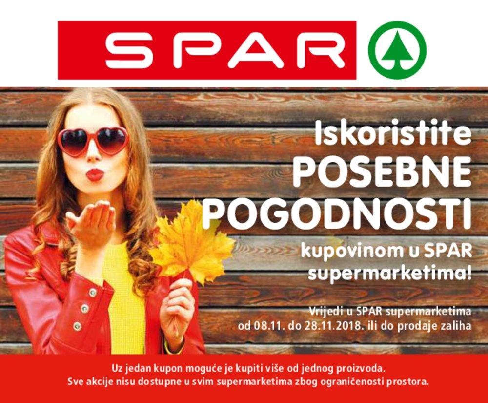 Spar katalog Bonovi 08.11.-28.11.2018.