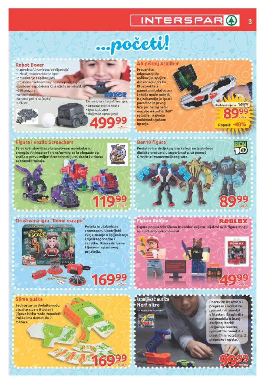 Interspar katalog Igračaka od 31.10.-07.01.2019.
