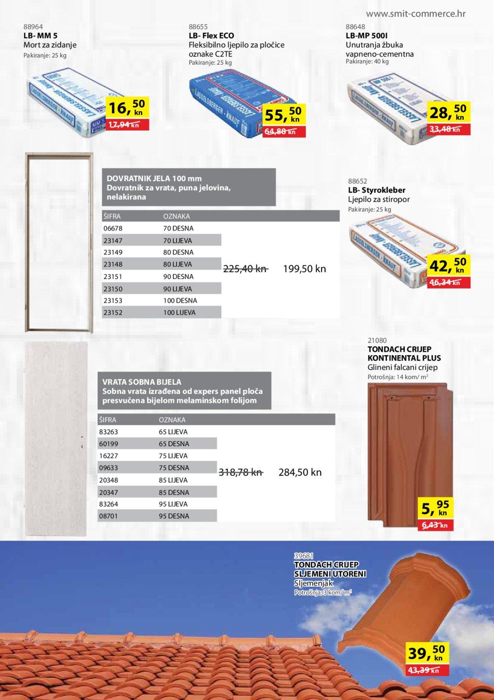 Smit Commerce Sve za gradnju i opremanje stana od 15.11.-14.12.2018.