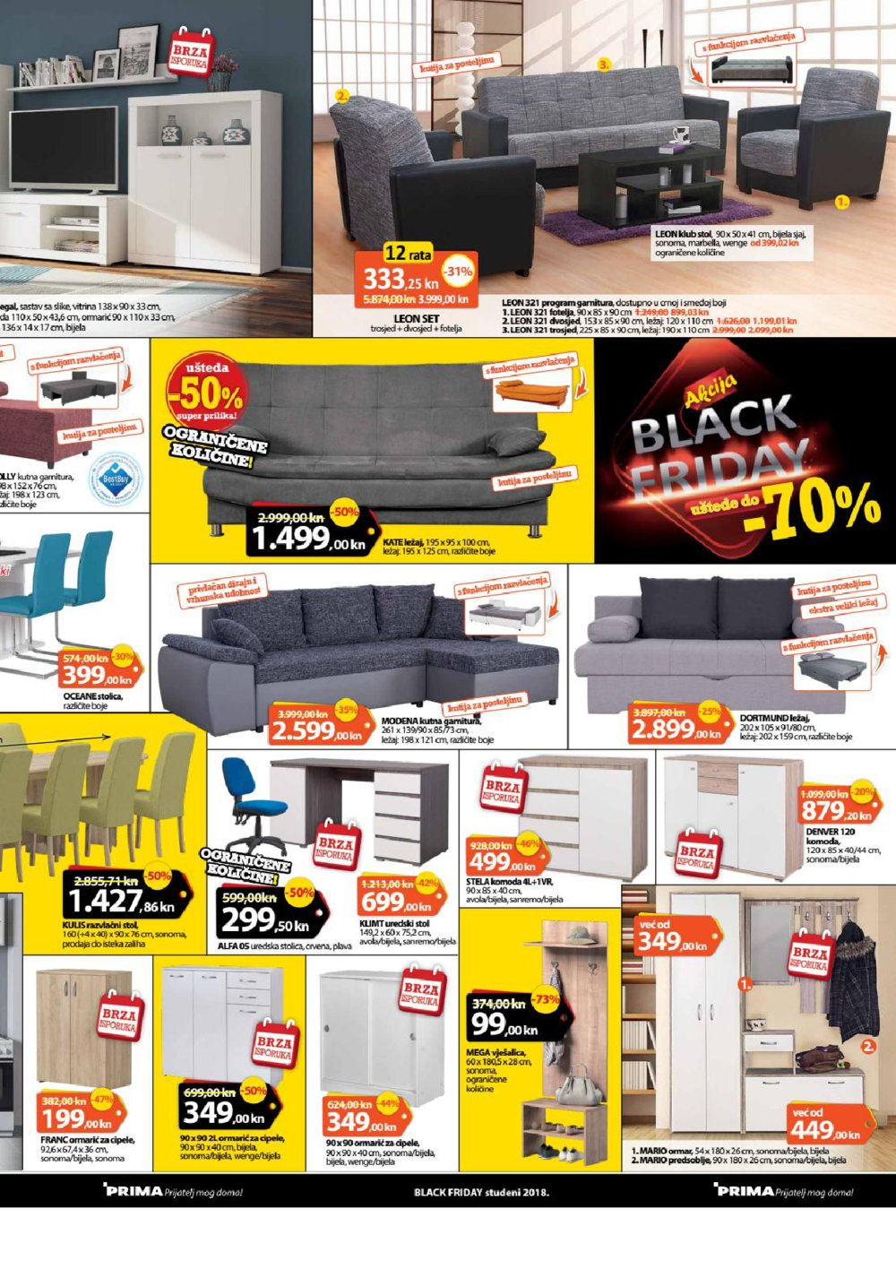 Prima katalog Black Friday od 19.11.-02.12.2018.