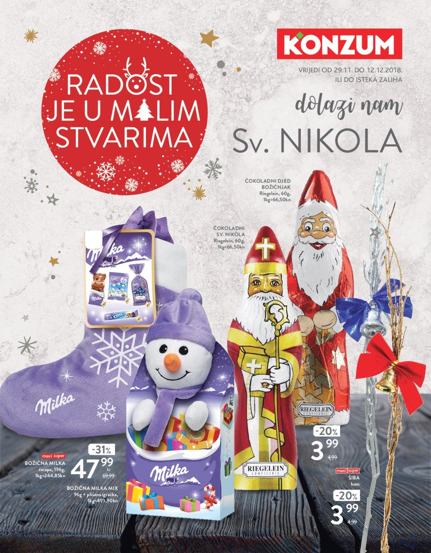 Konzum katalog Akcija Sv. Nikola 29.11.-12.12.2018.