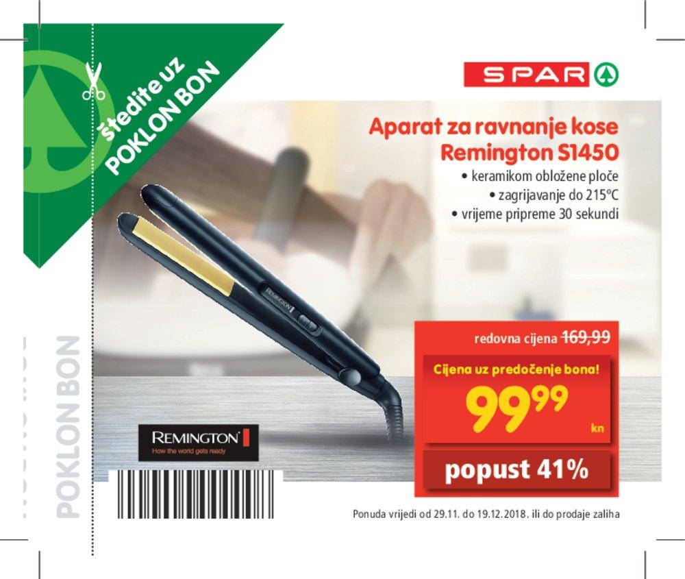 Spar katalog bonova 29.11.-19.12.2018.
