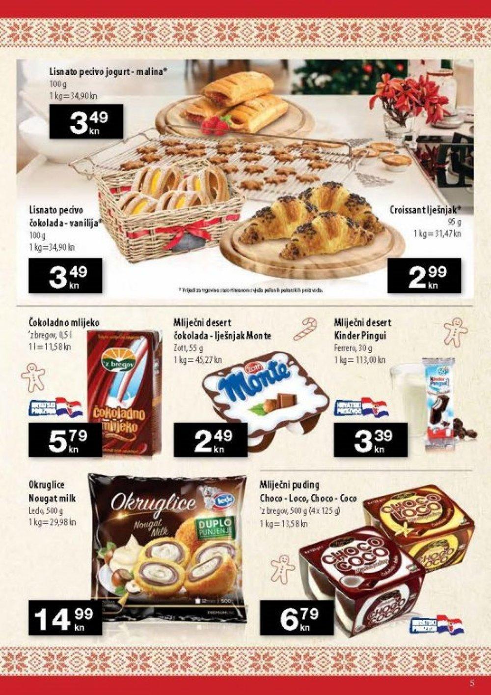 NTL katalog Slatki dani 29.11.-07.12.2018. u pojedinim prodajnim mjestima