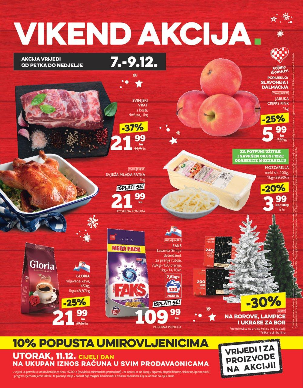 Konzum katalog Akcija 06.12.-12.12.2018.