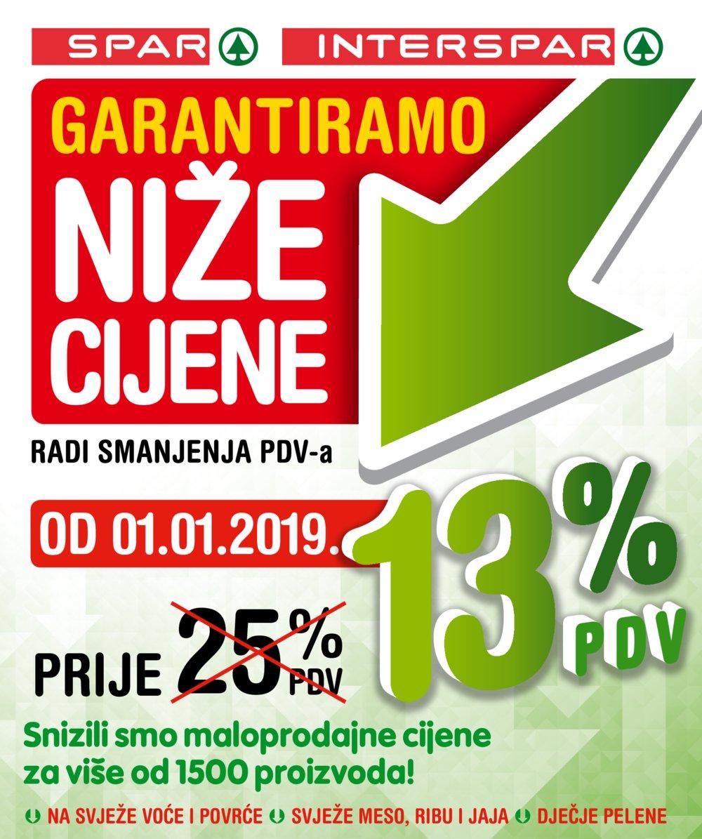 Interspar katalog Akcije od 02.01. do 16.01.2019.