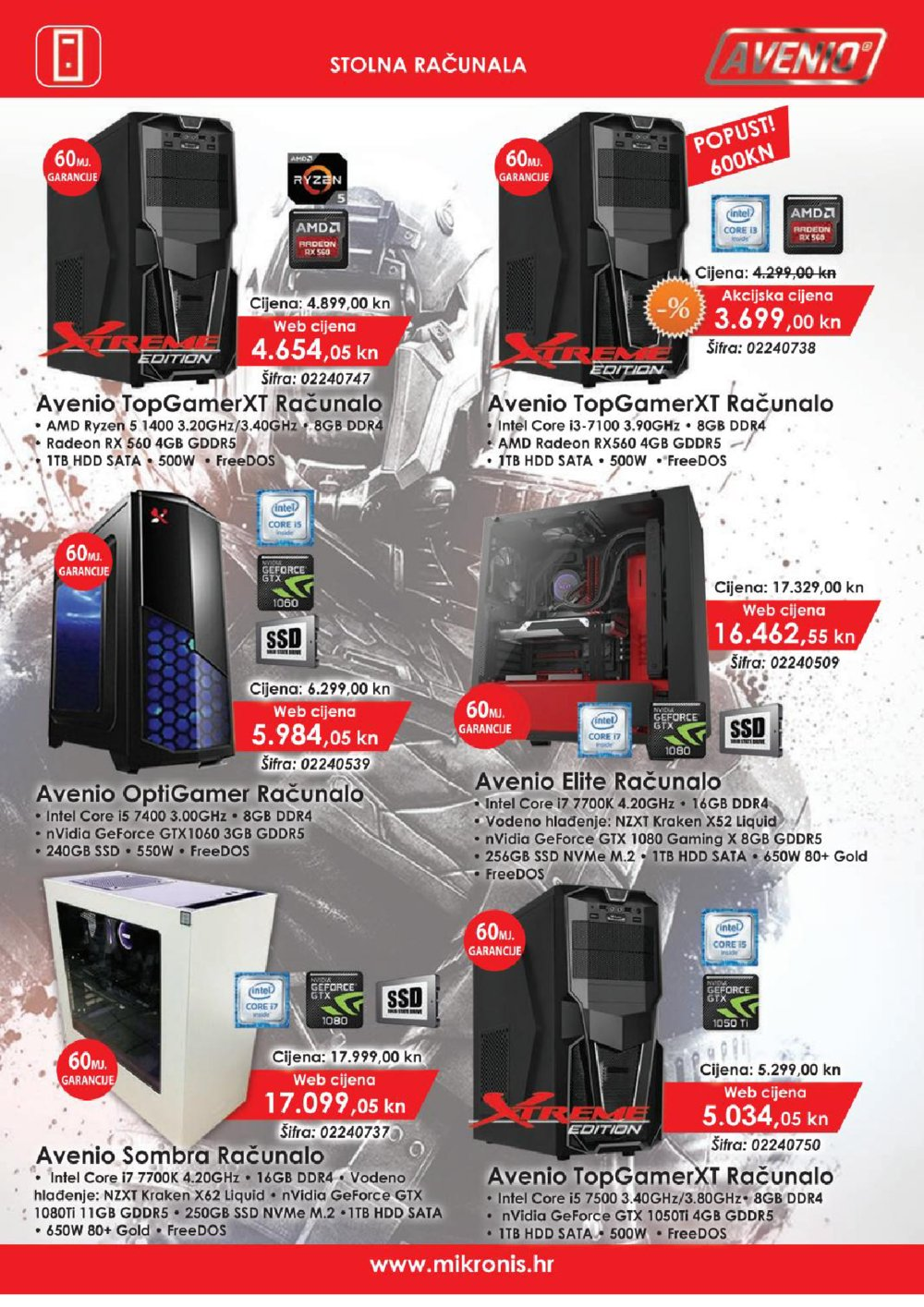 Mikronis katalog Back to school 01.09. - 31.10.2017.