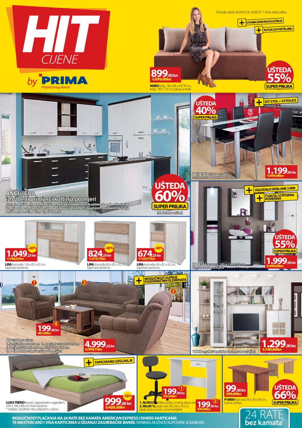 Prima katalog Hit cijene od 04.09. do 30.09.2017.