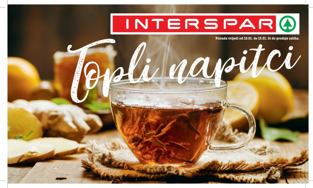 Interspar katalog Napitci 10.1.-15.1.2019.