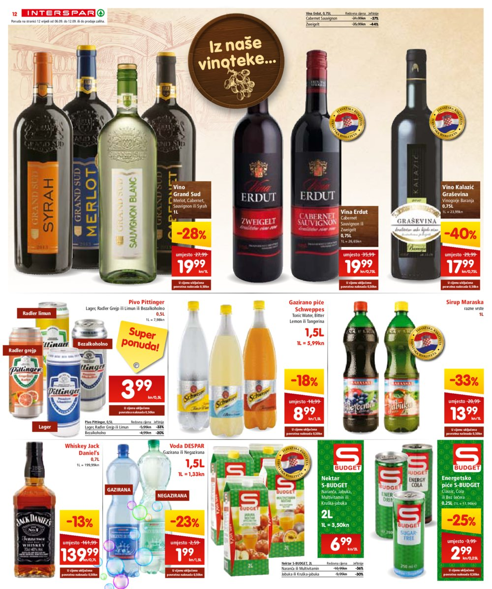 Interspar katalog Akcija od 06.09. do 19.09.2017.
