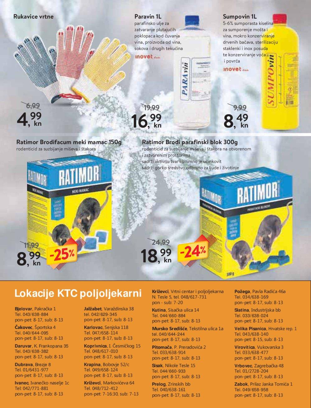 KTC Katalog Poljoljekarne 24.01.-06.02.2019.