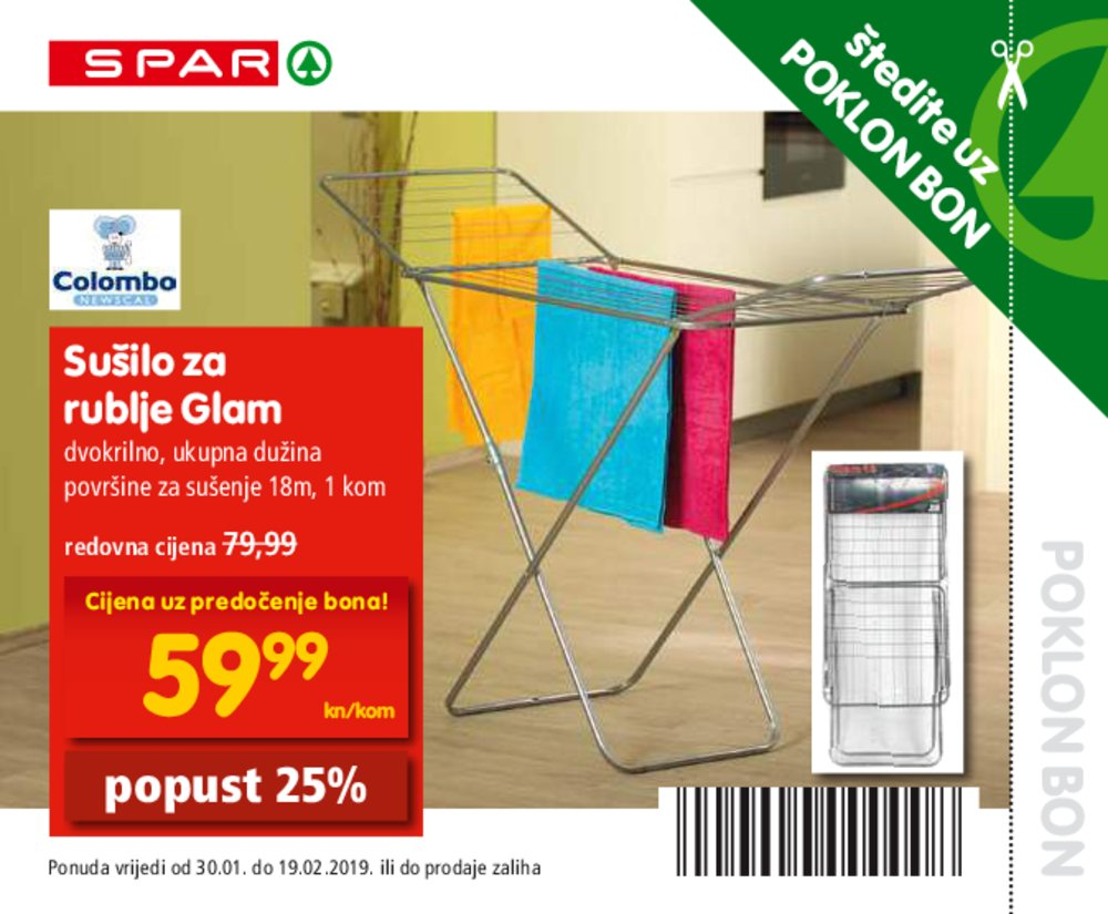 Spar katalog Supermarketi 30.01.-19.02.2019.