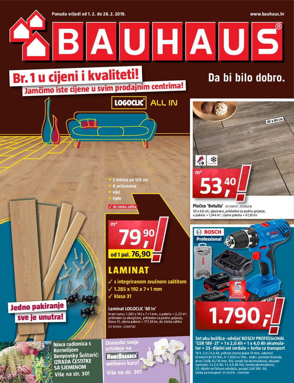 Bauhaus Katalog Akcija 01.02.-28.02.2019.