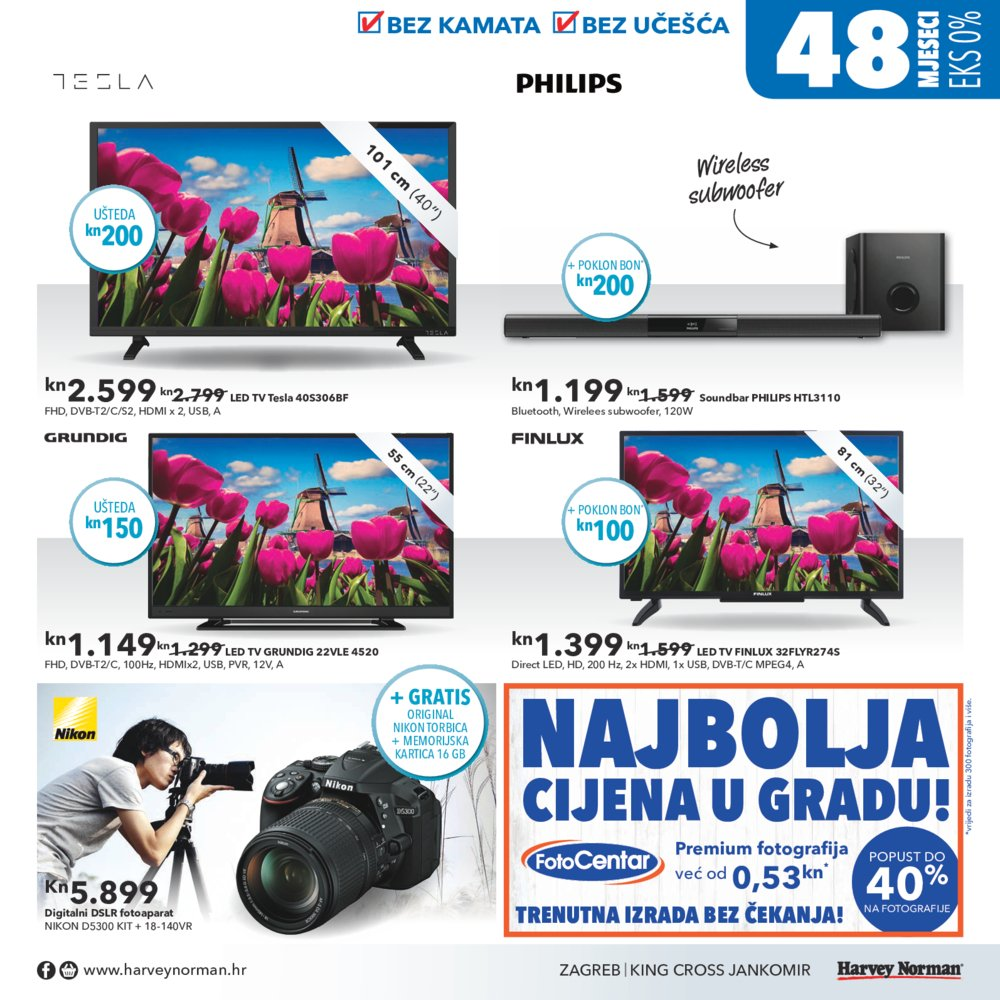 Harvey Norman katalog Akcija od 18.04. do 15.05.2017.