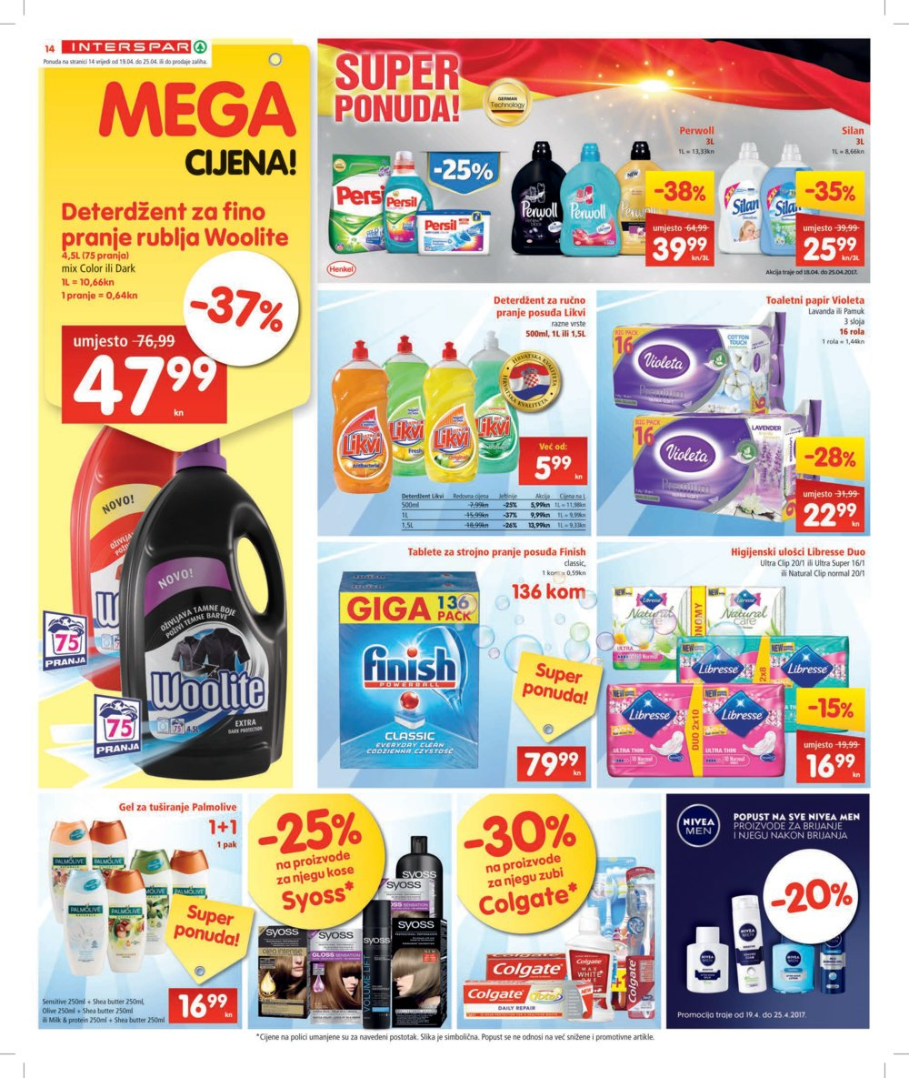 Interspar katalog Akcija od 19.04.2017. do 02.05.2017.