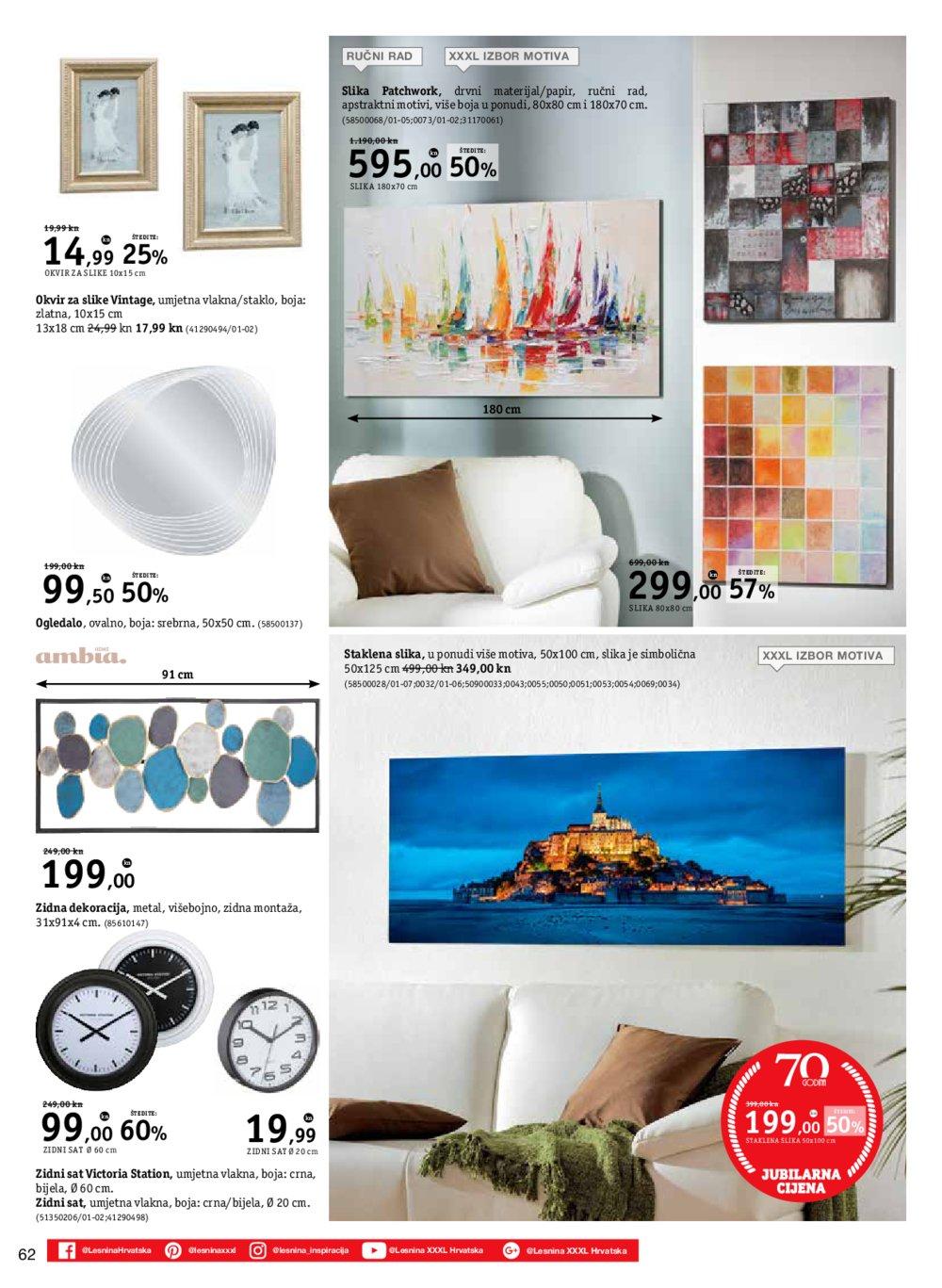 Lesnina katalog XXXL svijet apartmana 19.02.-31.05.2019.