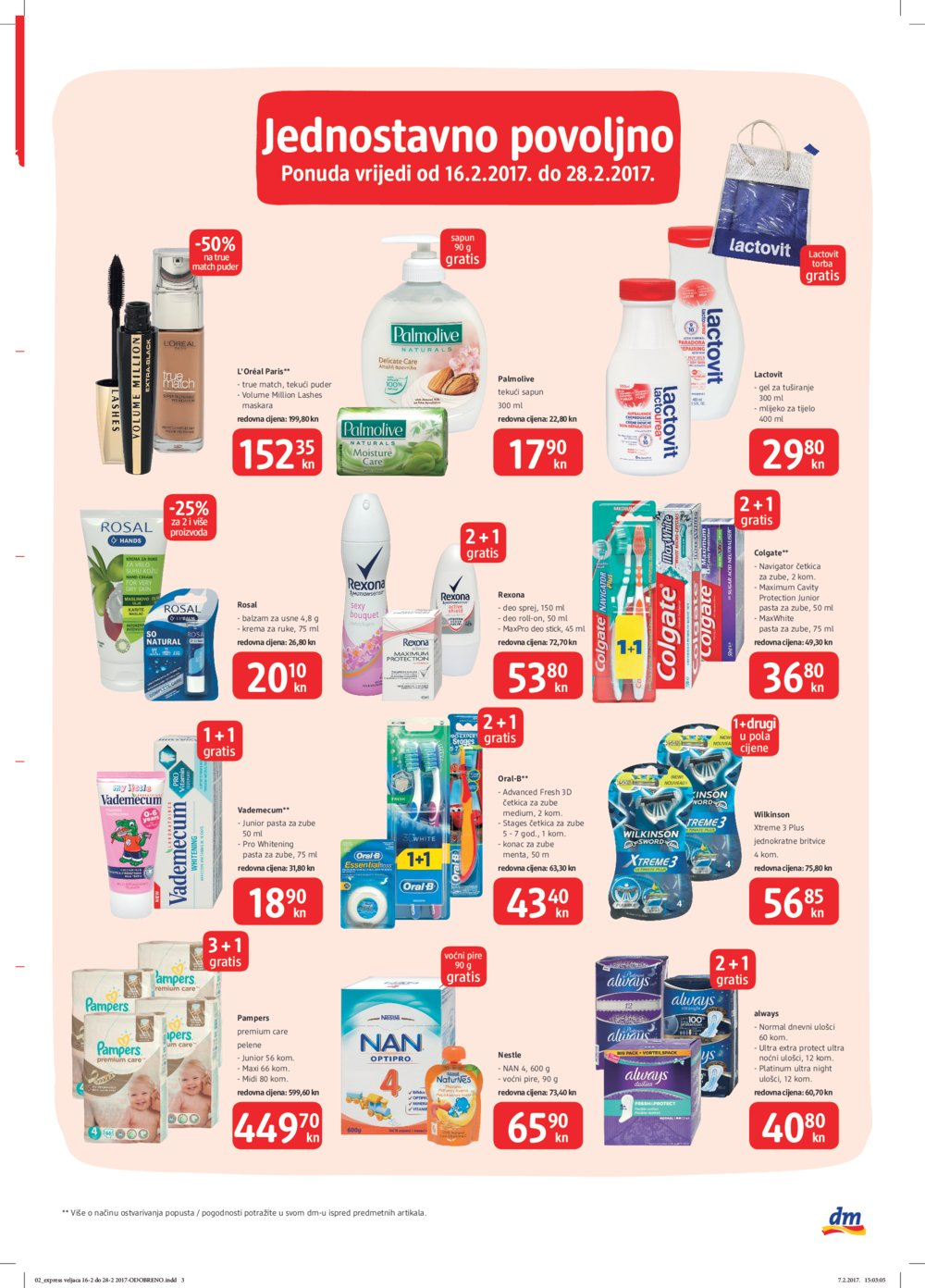 dm katalog Express do 28.2.2017.