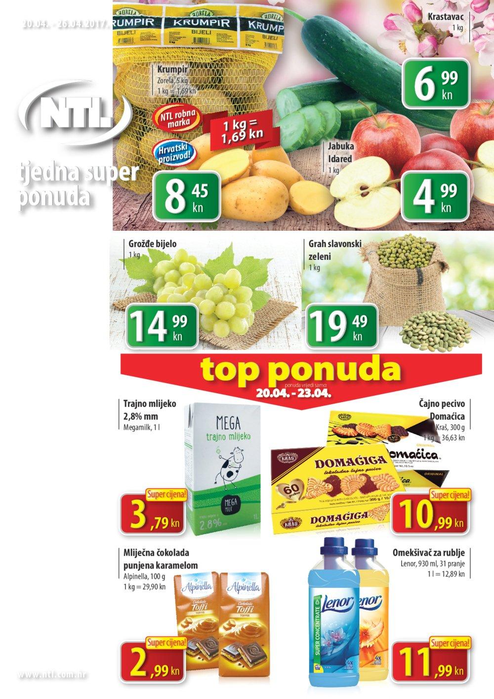 NTL katalog Tjedna ponuda Istok 20.04.-26.04.2017.