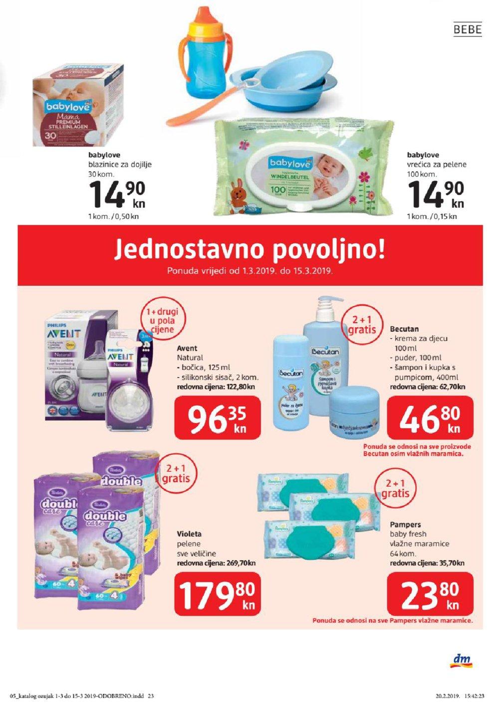 DM katalog Ožujak 01.03.-15.03.2019.