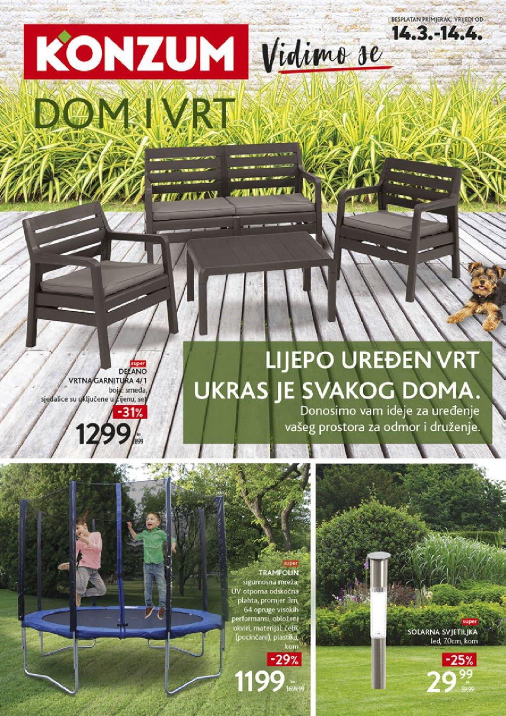 Konzum katalog Dom i vrt 14.03.-14.04.2019.