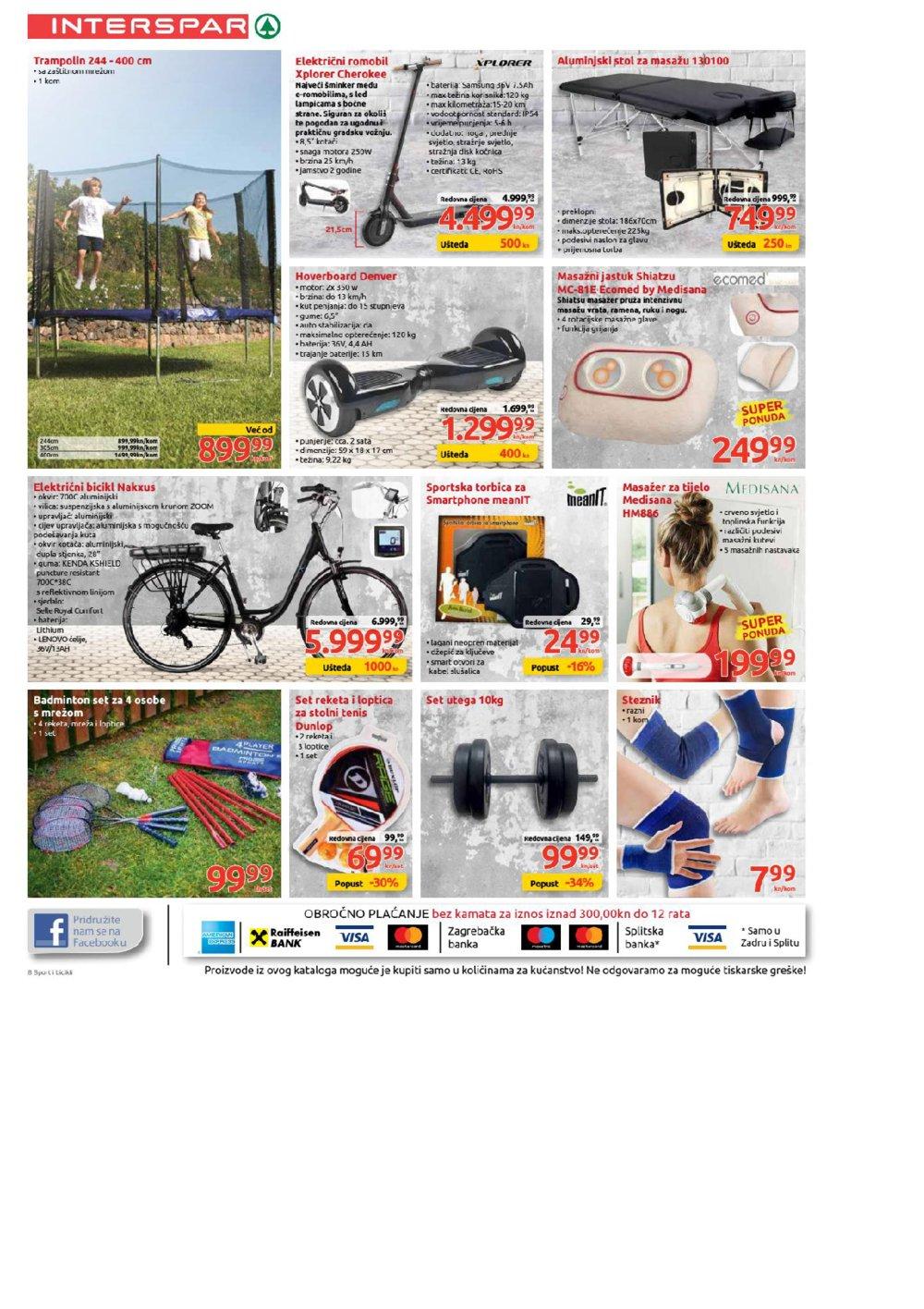 Interspar katalog Bicikli 13.03.-16.04.2019.