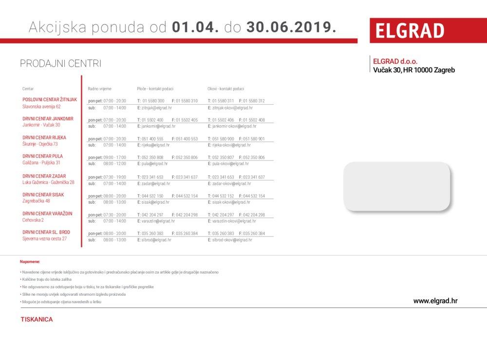 Elgrad katalog akcija 01.04.-30.06.2019.