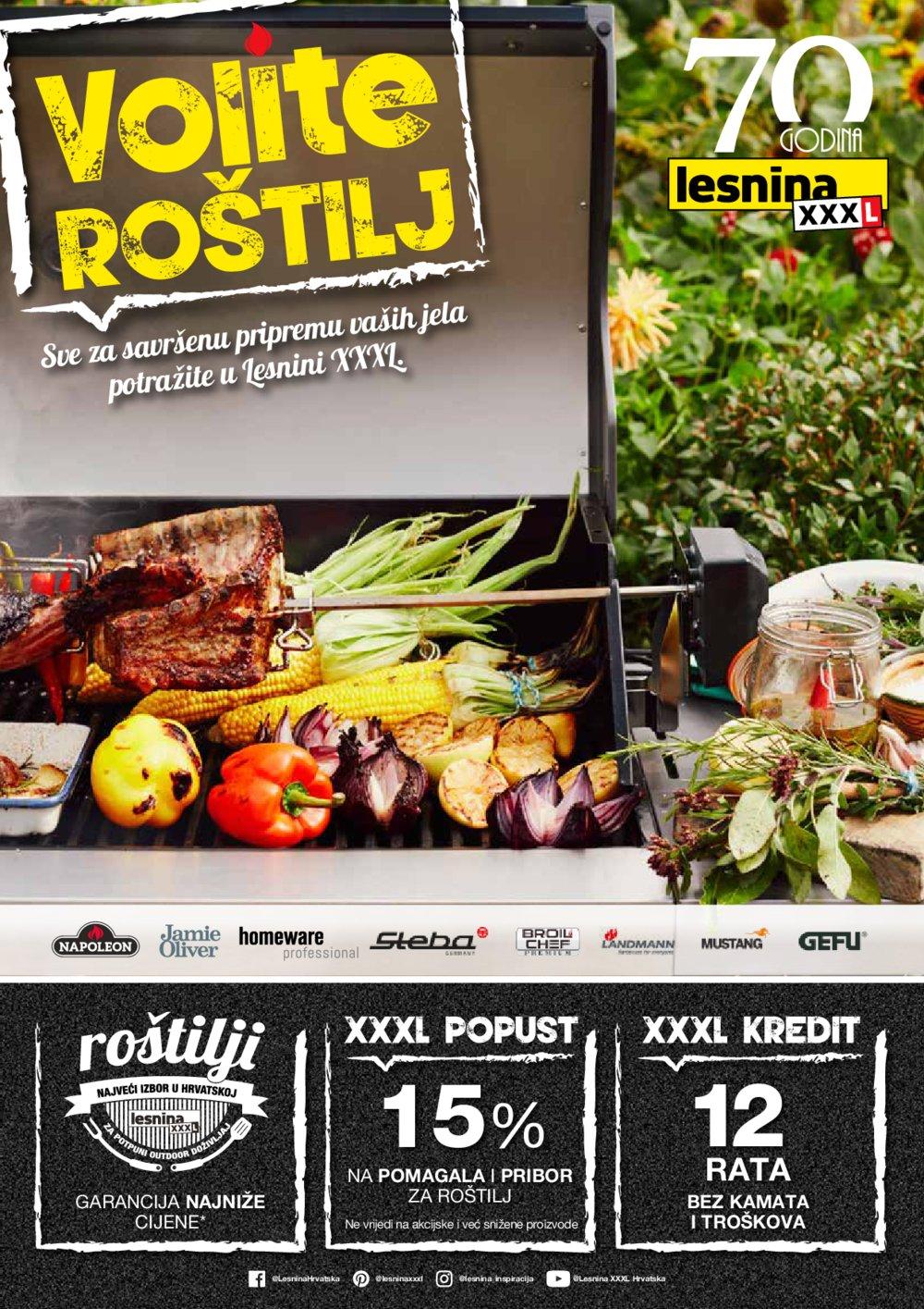 Lesnina katalog Volite roštilj 02.04.-31.05.2019.