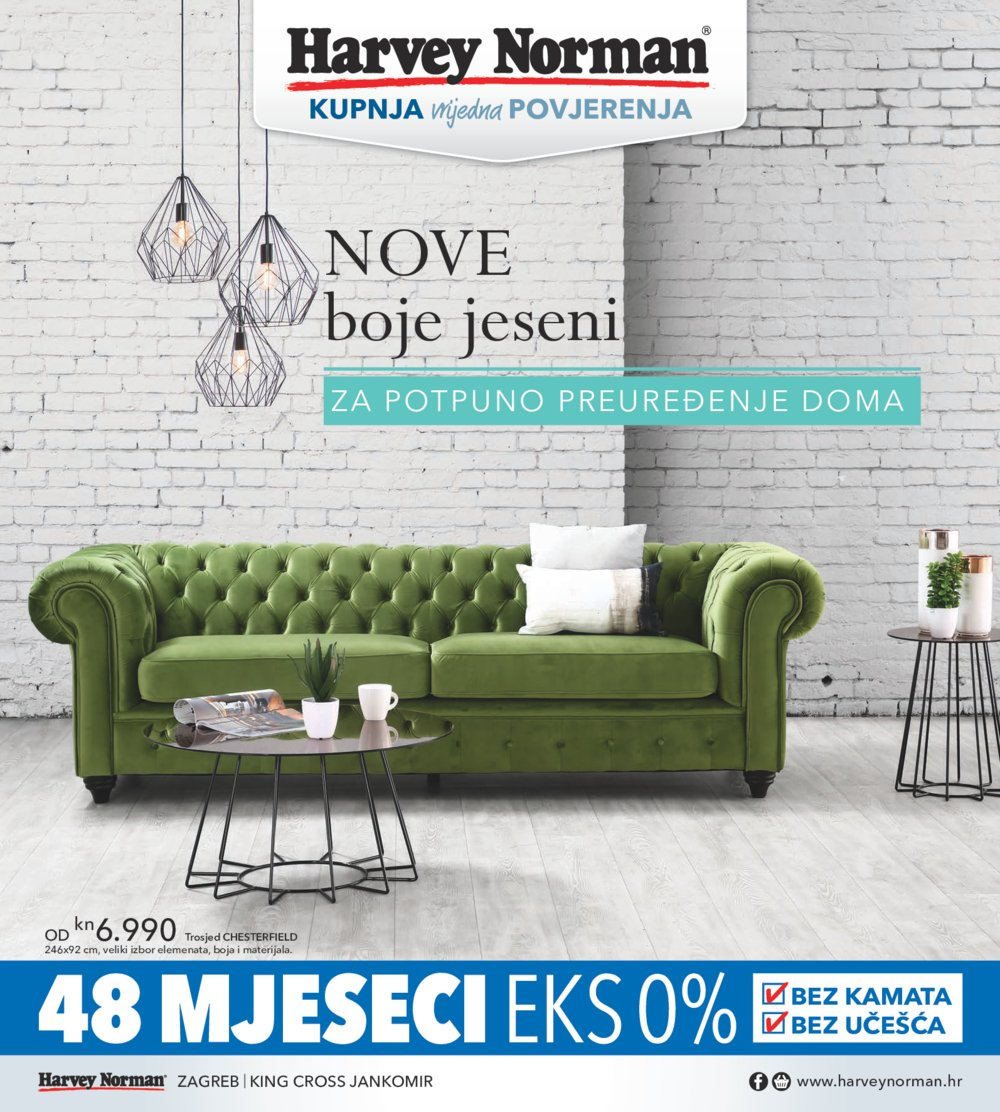 Harvey norman katalog Nove boje jeseni od 15.09.do 31.12.2017.