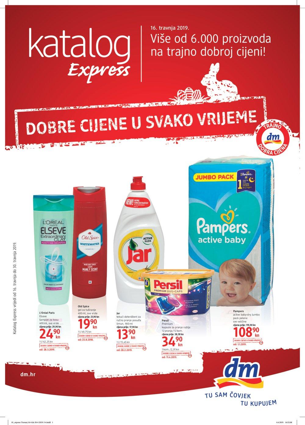 Dm katalog Express travanj 16.04.-30.04.2019.