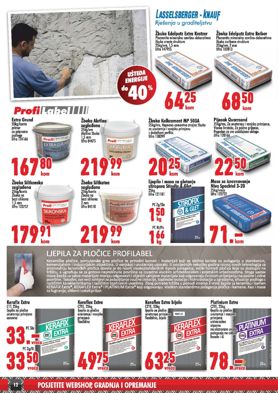 Profi baucentar katalog Akcija proljeće ljeto 15.04.-31.07.2019.