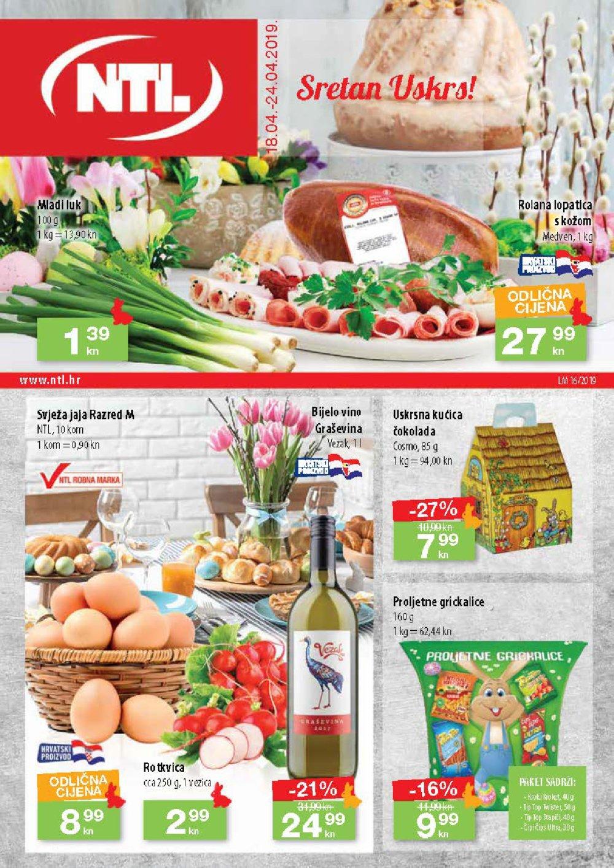 NTL katalog Akcija 18.04.-24.04.2019. Soblinec Duga Resa Lučko Krapina Zagreb (Bužanova, Vlaška) Varaždin (Filićeva)