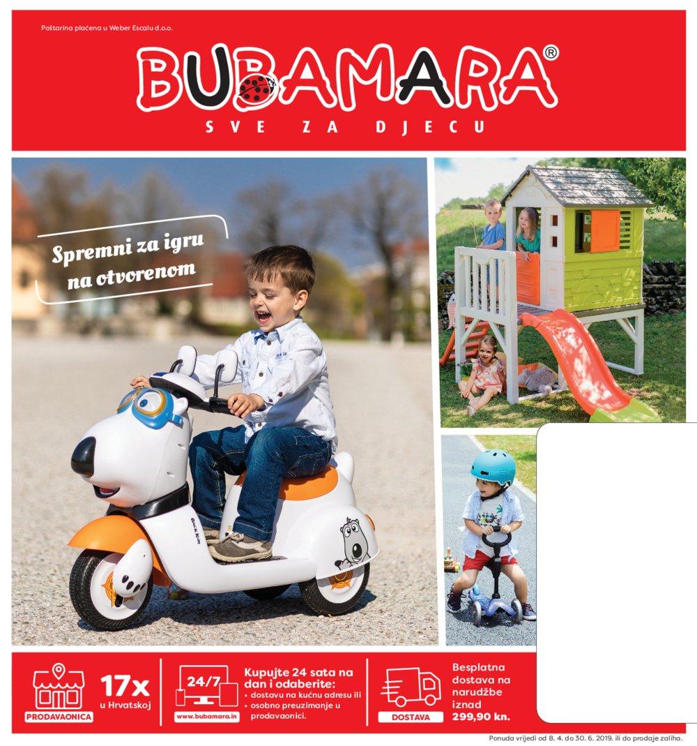 Bubamara katalog Vanjske igračke 08.04.-30.06.2019.