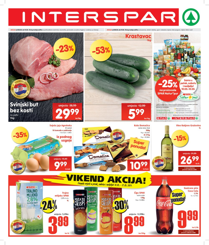 Interspar katalog Akcija 08.05.-21.05.2019.