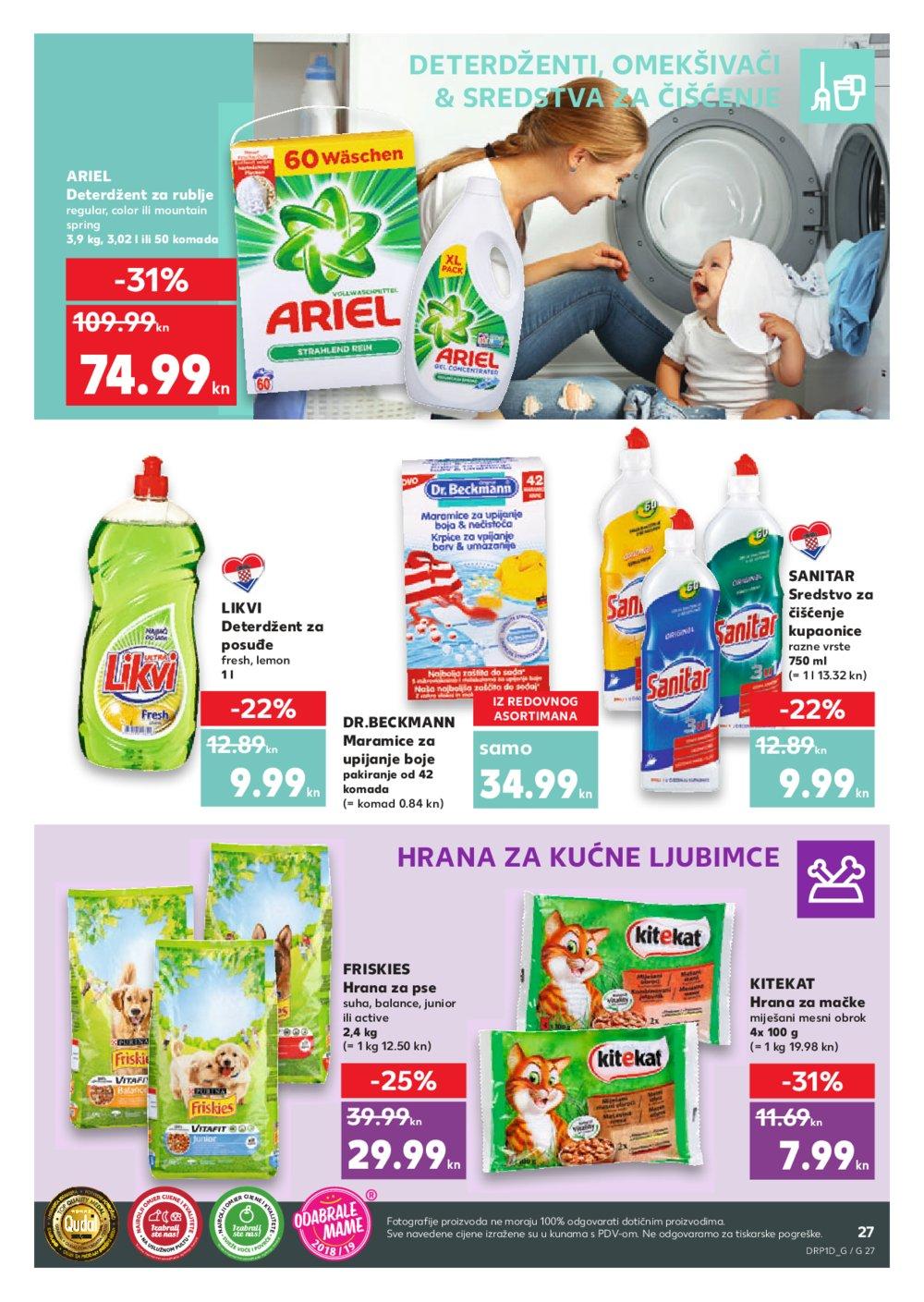 Kaufland katalog Akcija 09.05.2019.-15.05.2019. Bj Ča Ka Ko Ku Ng Os Po Sa Se Sk Sb Sp Ši Tr Um Va Vin Vir Za Zg Zap