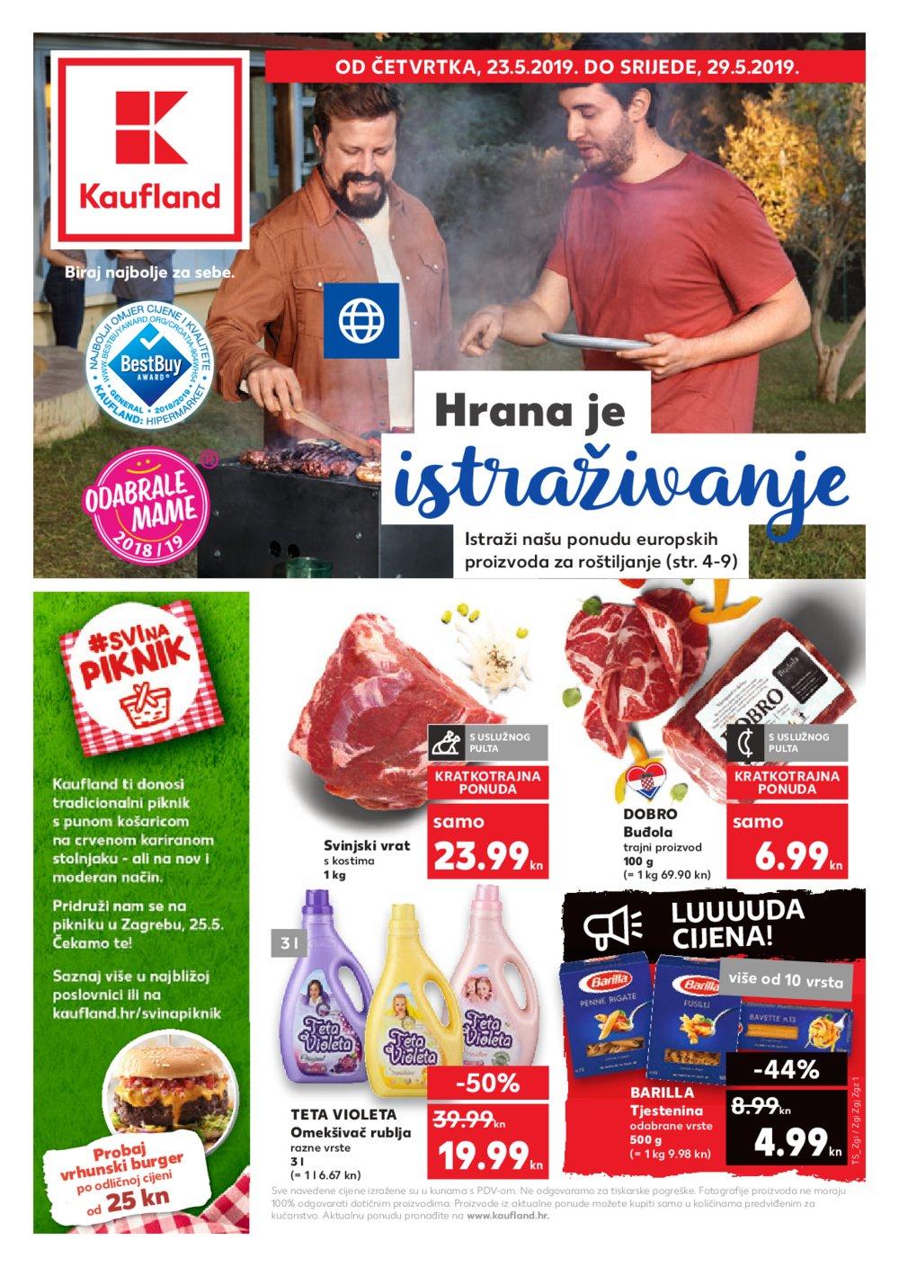 Kaufland katalog Akcija 23.05.-29.05.2019.